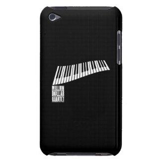 百万台のドルの四つ組のピアノ-白 Case-Mate iPod TOUCH ケース