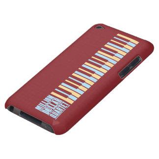 百万台のドルの四つ組のピアノ Case-Mate iPod TOUCH ケース