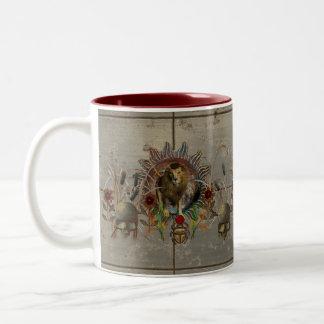 百獣の王 ツートーンマグカップ
