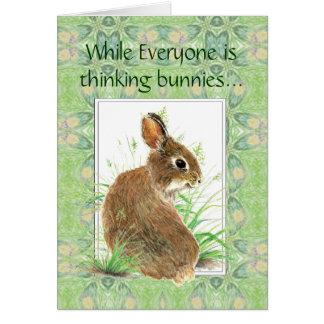 皆がバニーの聖なる書物、経典の詩を考えている間 カード