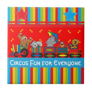 皆のためのサーカスのおもしろいベビーのための子供部屋のテーマ タイル