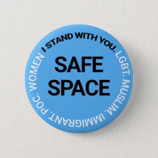 皆のための安全な宇宙 缶バッジ