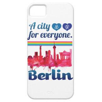 皆のためのWellcodaベルリン愛情のある都市 iPhone 5 Case