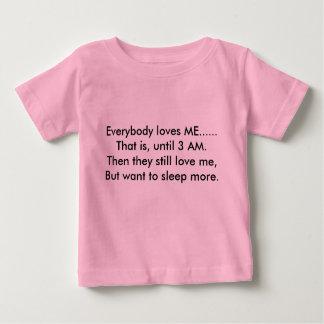 皆はすなわち、3 AM.Theまでの私を......…愛します ベビーTシャツ
