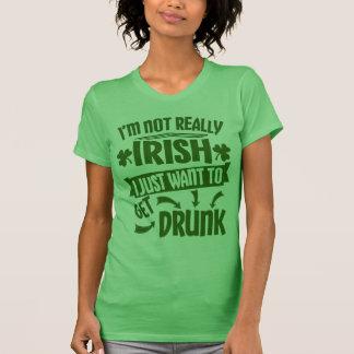 皆はアイルランド人のSaint patricks dayのおもしろいな引用文です Tシャツ