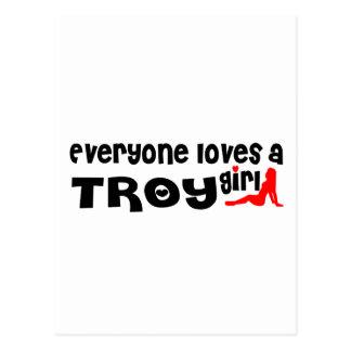 皆はイリオスNYの女の子を愛します ポストカード