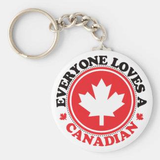 皆はカナダ人を愛します! キーホルダー