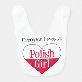 皆はポーランドの女の子のよだれかけを愛します ベビービブ
