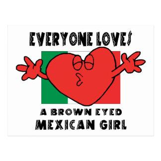 皆はメキシコ女の子を愛します ポストカード
