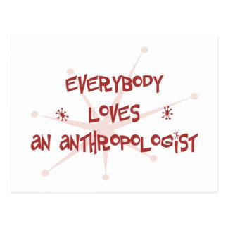 皆は人類学者を愛します ポストカード
