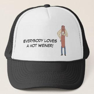 皆は熱いウィーナーの帽子を愛します キャップ