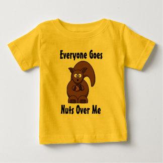 皆は私に興奮します ベビーTシャツ