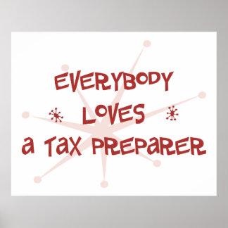 皆は税準備者を愛します ポスター