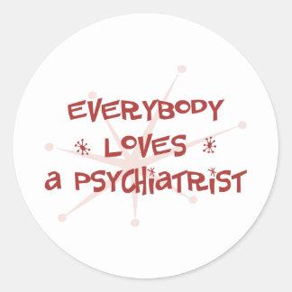 皆は精神科医を愛します ラウンドシール
