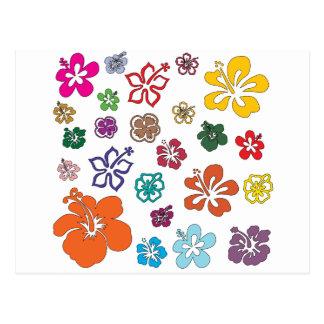 皆は花を愛します ポストカード