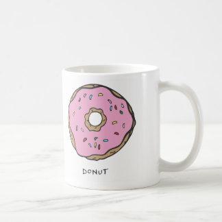 皆は食べます: ドーナツマグ コーヒーマグカップ