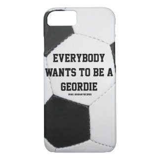 皆はgeordieのフットボールのデザインでありたいと思います iPhone 8/7ケース