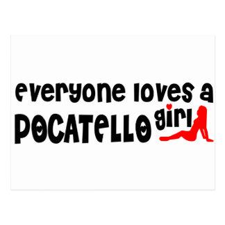 皆はPocatelloの女の子を愛します ポストカード