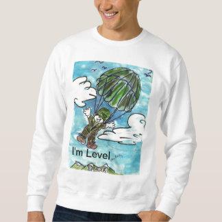 皆をレベルであることを示して下さい スウェットシャツ