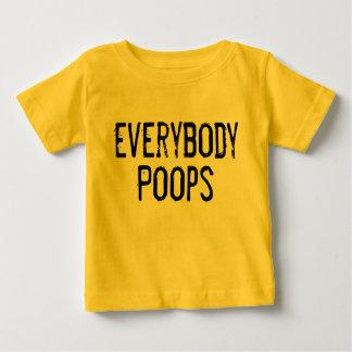 皆ウンチ ベビーTシャツ