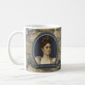 皇后のアレキサンドラの歴史的マグ コーヒーマグカップ