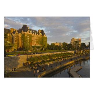 皇后のホテルおよび内部港の水辺地帯、 カード