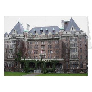 皇后のホテル カード