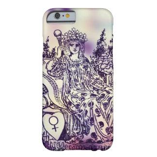 皇后の占いカードのiPhoneの例 Barely There iPhone 6 ケース