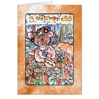 皇后の占いカード カード