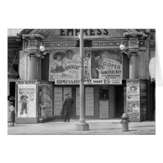 皇后の映画館1939年 カード