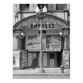 皇后の映画館1939年 ポストカード