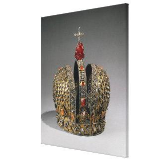 皇后の王冠 キャンバスプリント