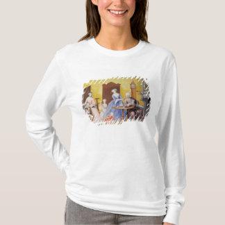 皇后の王室のな世帯のクリスマス Tシャツ