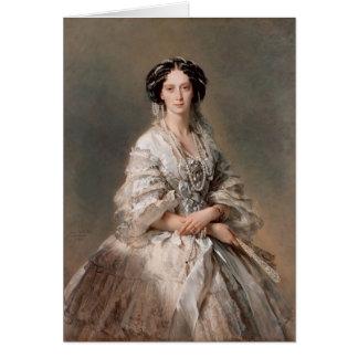 皇后マリアのフランツWinterhalter-のポートレート カード