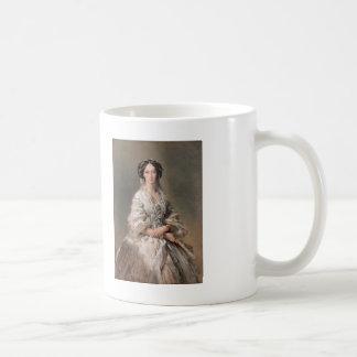 皇后マリアのフランツWinterhalter-のポートレート コーヒーマグカップ