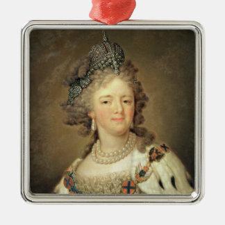 皇后マリアFyodorovnaのポートレート メタルオーナメント