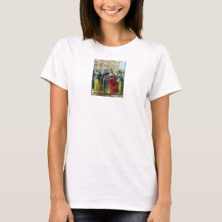 -皇后-絞首刑1816色刷 Tシャツ