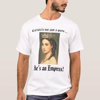 皇后Carlotaのカスタマイズ皇后Carlota - Tシャツ
