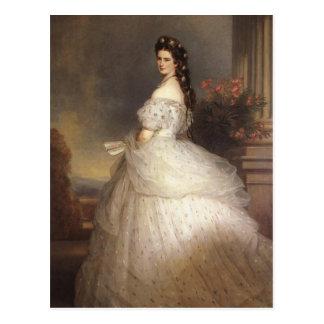 皇后Elisabeth - Sisi -フランツXaver Winterhalte ポストカード