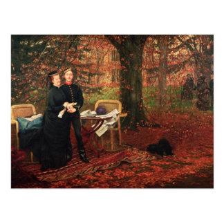 皇后Eugenie及びEugeneルイナポレオン ポストカード