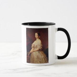 皇后Eugenie 1854年のポートレート マグカップ