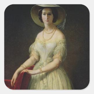 皇后Eugenie c.1853 スクエアシール