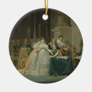 皇后Josephineの離婚(1763-1814年) 1 セラミックオーナメント