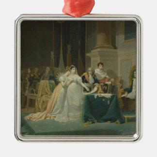 皇后Josephineの離婚(1763-1814年) 1 メタルオーナメント
