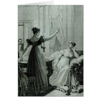 皇后Josephineは予言を明らかにします カード