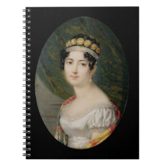 皇后Josephine (1763-のポートレートのミニチュア ノートブック