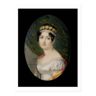 皇后Josephine (1763-のポートレートのミニチュア ポストカード