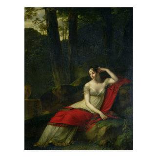 皇后Josephine 1805年のポートレート ポストカード