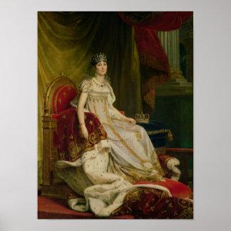 皇后Josephine 1808年 ポスター