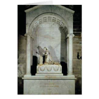 皇后Josephine 1825年の墓 カード